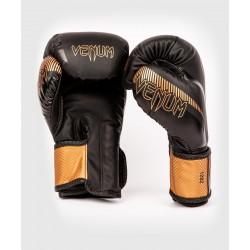 Gants boxe Venum impact noir/bronze
