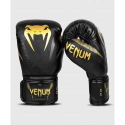 Gants boxe Venum impact (noir/or)