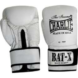 Gants de boxe Charlie Bat-X blanc