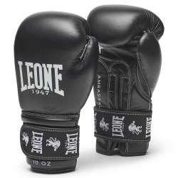 Gants boxe Leone ambassador (noir)