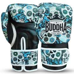 Gants boxe Buddha mexican (bleue)