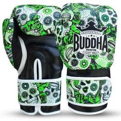 Gants kick boxing Buddha mexican (vert)