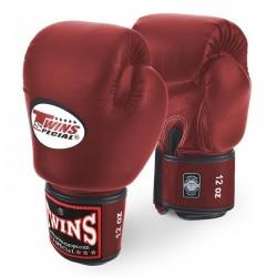 Gants de boxe Twins Bgvl rouge vin