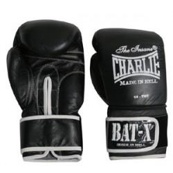 Gants de boxe Charlie Bat-x noir