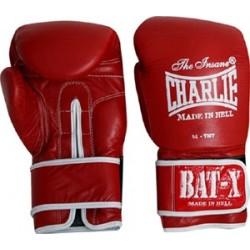 Gants boxe Charle bat-X (rouge)