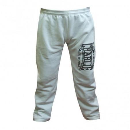 Pantalon en coton blanc Charlie