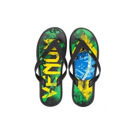Sandales Venum drapeau brésilien