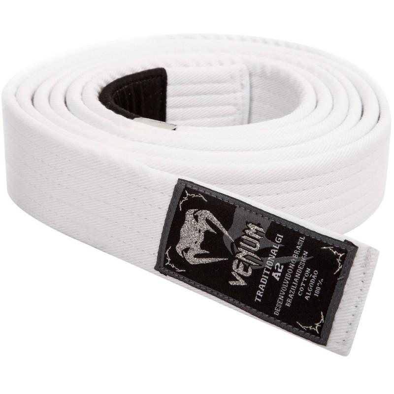 Cinturon BJJ Buddha blanco