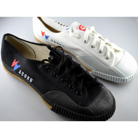 Chaussures Kung fu - Taichi Wacoku noir