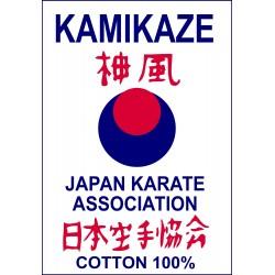 Label vert Karategi Kamikaze