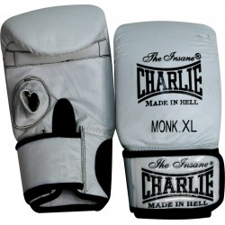 Mitaines de sac Charlie Monk blanches