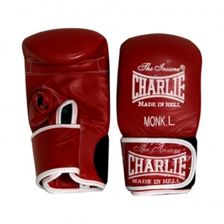 Mitaines de sac Charlie monk rouge