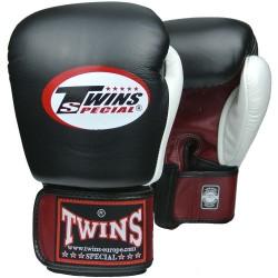 Gants de Boxe Twins bgvl  4 rouge/noir/blanc