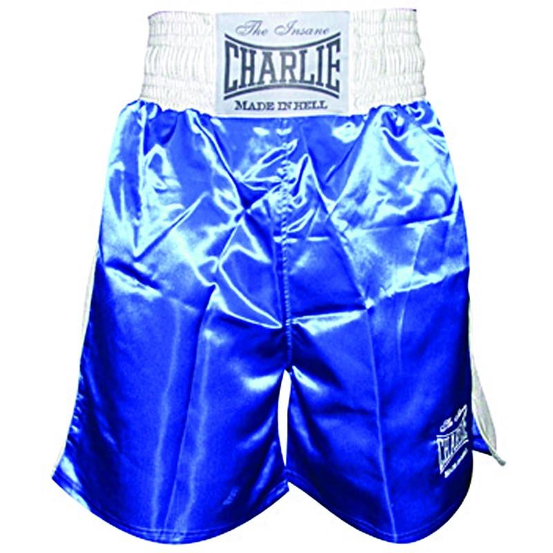 Shorts de Boxe Charlie X bleu