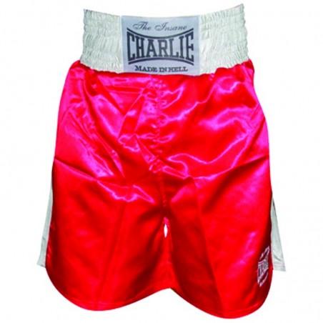 Shorts de Boxe Charlie X rouge
