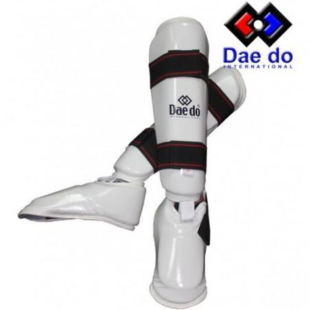 Protège-tibias Daedo pr1582 blanche
