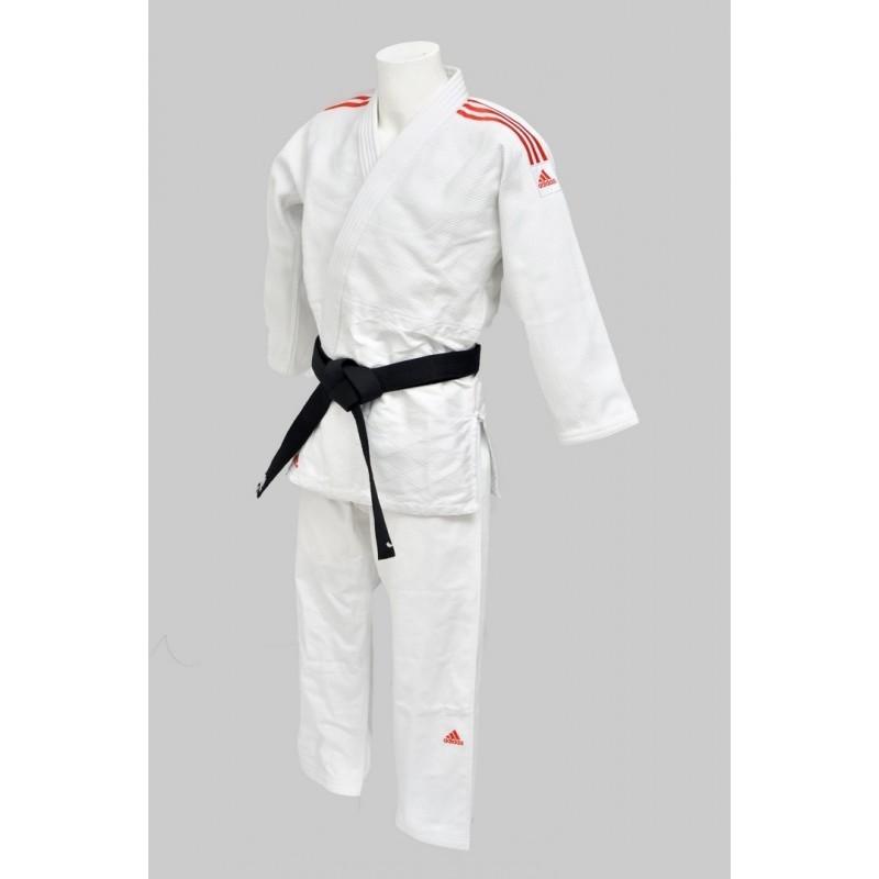 Judogi Adidas Contest blanc