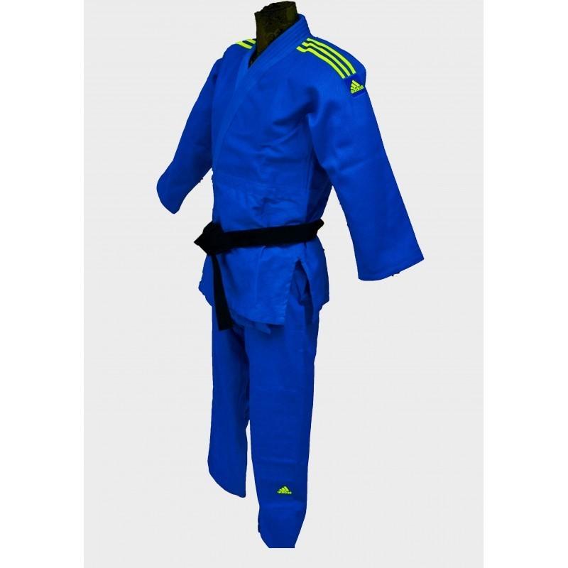 Judogi Adidas Contest bleu