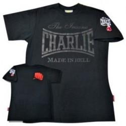 T-shirt Charlie noir