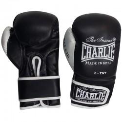 Gants boxe enfant Charlie bat kid (noir)