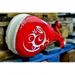 Mitaines de taekwondo double NKL rouge
