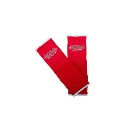 Serre-poignets de muay thai Yokkao rouge