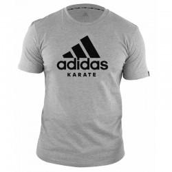 T-shirt Adidas Karate gris