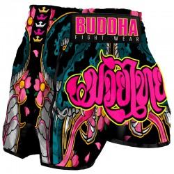 Short de Muay Thai Buddha Retro Cobra
