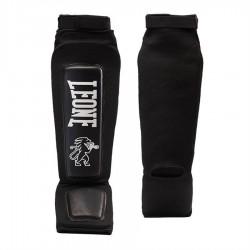 Protège-tibias de kick boxing Leone Defender