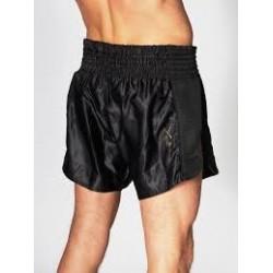 Pantalon Muay Thai ABE20 essentiel noir