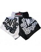 shorts de boxe, muay thai et kick boxing